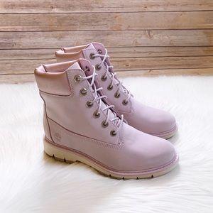 "Timberland Lucia Way 6"" Pink Waterproof Boots"